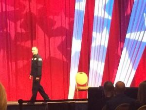 "AHRA 2014 Day 1 Keynote Speaker Lieutenant Colonel Rob ""Waldo"" Waldman."