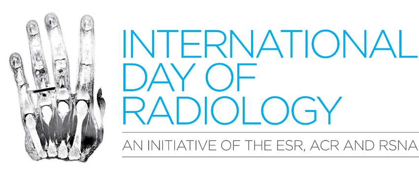 The International Day of Radiology is an initiative organized by the ESR, RSNA, and ACR.