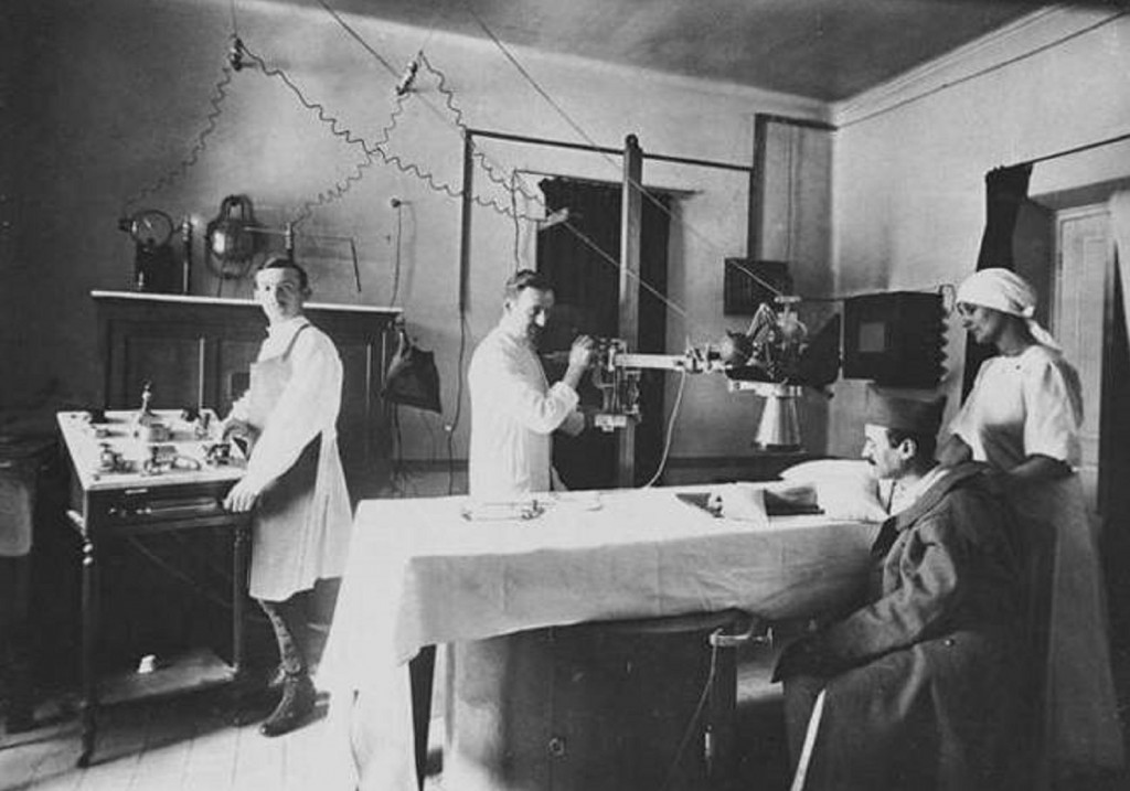 Radiology In The First World War Everything Rad