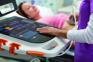 Photo of Carestream Touch Prime Ultrasound System