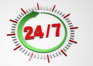 images of 24 7 clock
