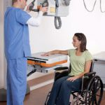 patient getting an x-ray