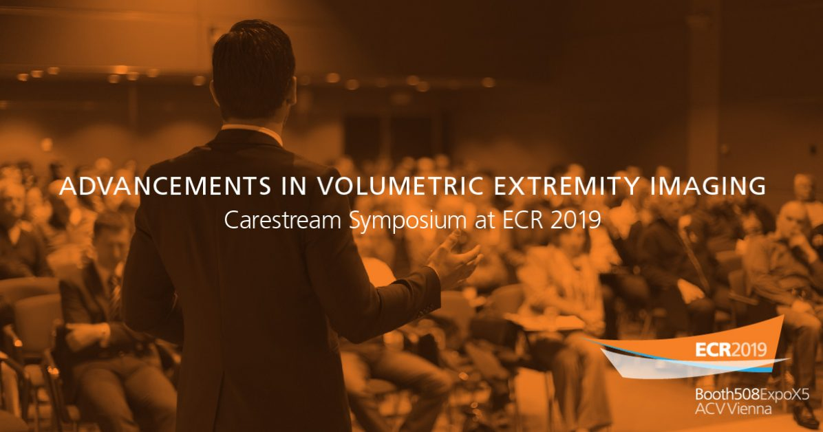 Information about Extremity Imaging symposium at ECR 2019