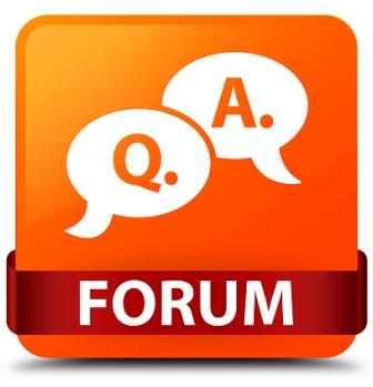 question answer bubble icon