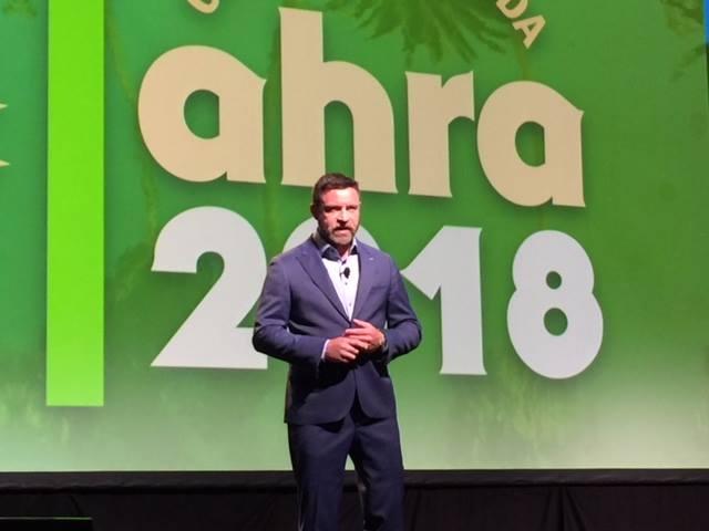 photo of keynote speaker Kevin Brown at AHRA