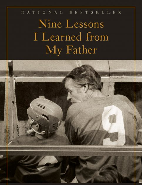 bookcover for book written by Gordie Howe's son