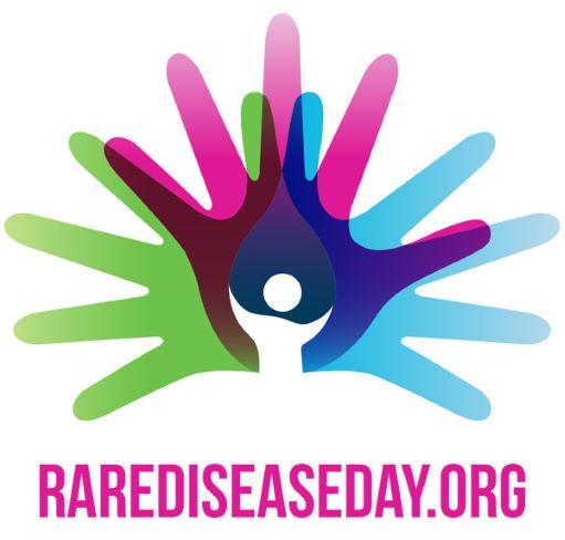Image promoting Rarediseaseday.org