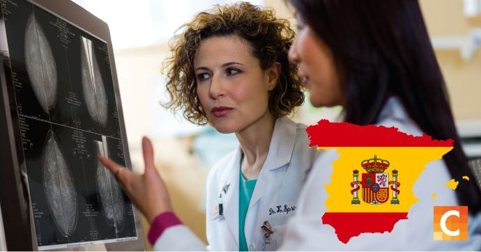 Radiologists in Spain educating students