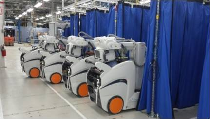 image of DRX-Revolution Production line at the manufacturing facility
