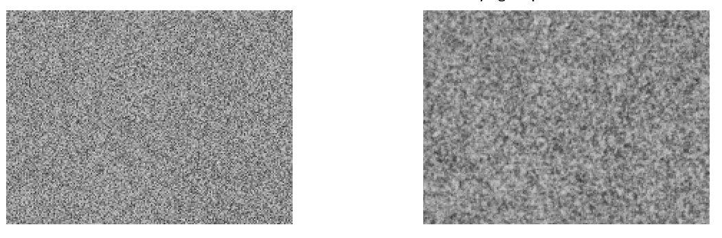 imágenes de ruidos electrónicos y cuánticos