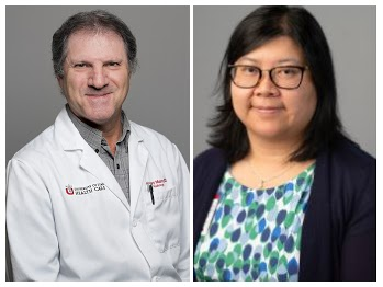 Photo of doctors Howard Mann  and Phuong-Anh Duong