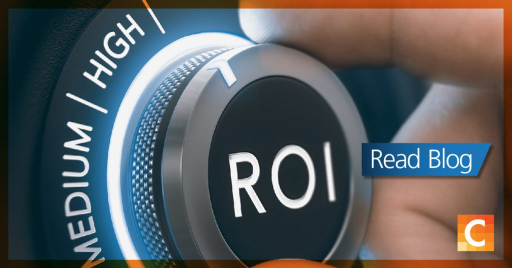 image of a meter from high to low that says ROI