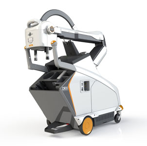 CARESTREAM DRX-Revolution Nano Mobile X-ray System